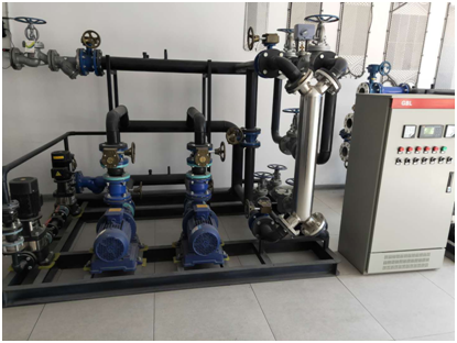 蒸汽换热机组案例