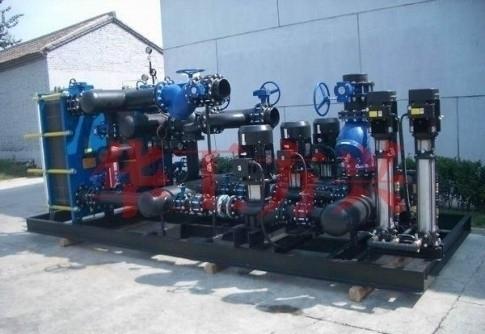 新疆换热站控制系统采用性价比较高的和利时LM系列PLC